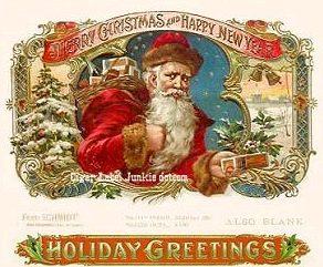 Santa loves cigars