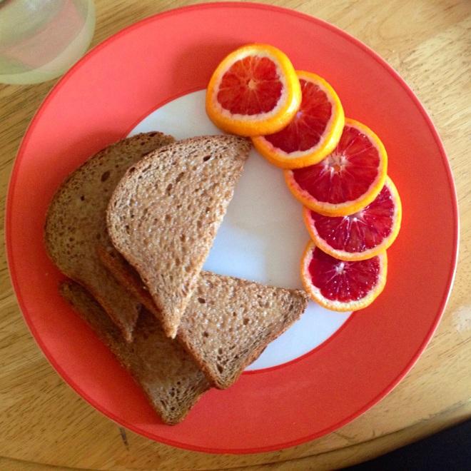 bloodoranges&toast
